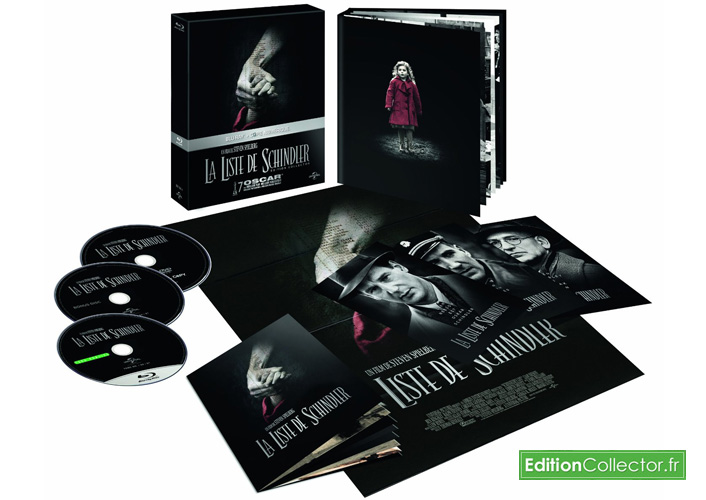 la liste de shindler edition collector