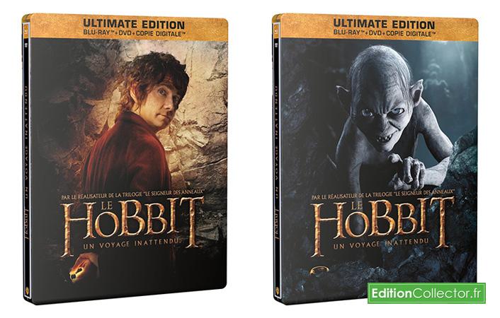steelbook the hobbit edition limitée bilbon et Gollum