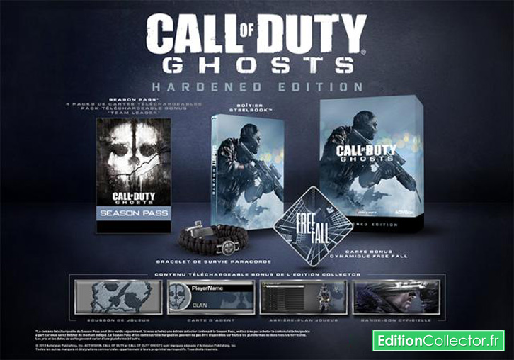 call of duty ghosts edition hardened