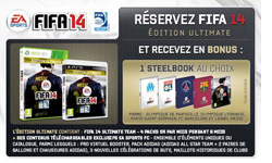 Fifa 14 Ultimate + steelbook