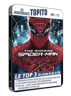 The amazing spider man - Boitier métal - Collection TOPITO