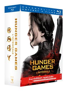 Hunger Games Coffret intégrale Edition Collector Fnac