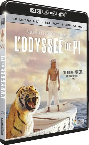 L'Odyssée de Pi Blu-ray 4K Ultra HD