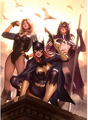 vignette-dc-comics-birds-of-prey-premium-art-print