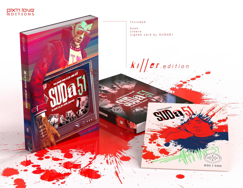 livre suda51 pix n love édition collector