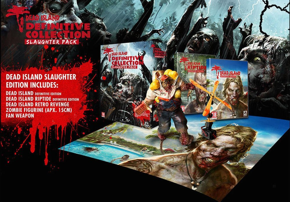 Dead Island Slaughter Edition Unboxing