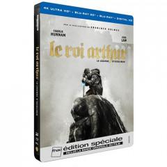 bon-plan-Le-Roi-Arthur-La-legende-d-Excalibur-Edition-speciale-Fnac-Steelbook-Blu-ray-3D-2D-4K