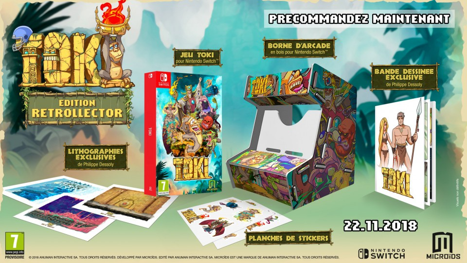 toki edition collector