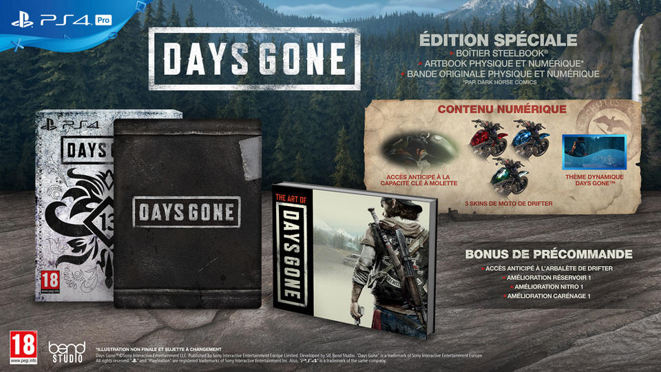 [2019-04-26] Days gone collector-Exclu ps4 Days-gone-édition-spéciale