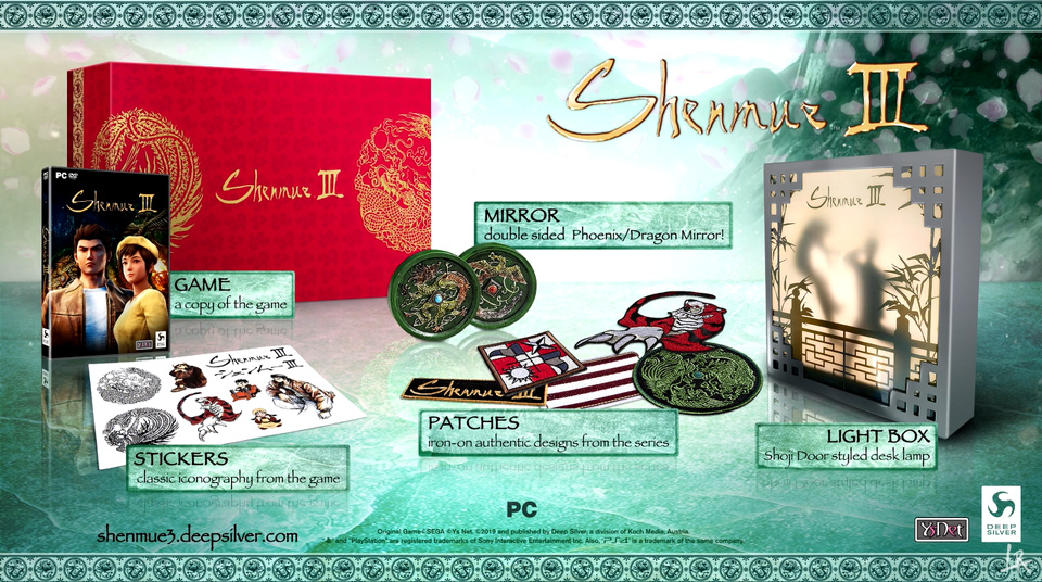 [2019-11-19] Shenmu 3 collector (PS4 - PC) Collector-edition-shenmue-3